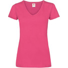 Fruit Of The Loom Women's Valueweight V-Neck T-Shirt