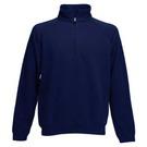 Fruit Of The Loom Premium Zip Neck Sweatshirt