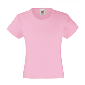Fruit of the Loom Girl's Valueweight T-shirt