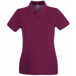 Fruit of the Loom Lady Fit Premium Pique Polo Shirt