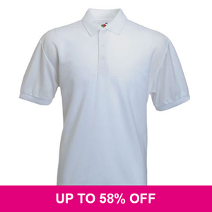 Fruit of the Loom Poly/Cotton Polo Shirt *Special Offer*