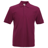 1c5fb467 Fruit of the Loom Poly Cotton Heavy Polo Shirt