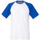 Fruit of the Loom Short Sleeve Baseball T-shirt