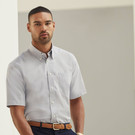 Fruit of the Loom Short Sleeve Oxford Shirt