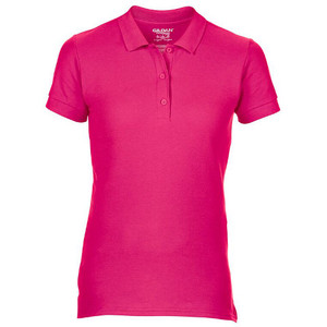 Gildan Ladies Premium Cotton Double Pique Polo Shirt