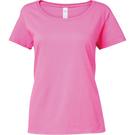 Gildan T-shirt Softstyle Women's Deep Scoop