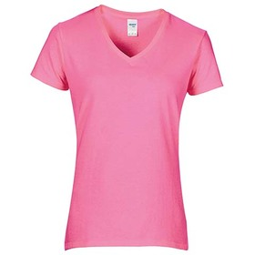 Gildan T-Shirt Women's Premium Cotton V-Neck