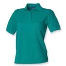 Henbury Ladies Pique Polo Shirt