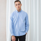 Henbury Modern Long Sleeve Oxford Shirt (Classic Fit)