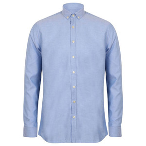 Henbury Modern Long Sleeve Oxford Shirt (Classic Fit)