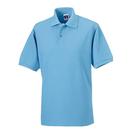 Russell Ripple Collar & Cuff Polo Shirt