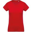 Kariban Women's Organic Cotton Crew Neck T-Shirt