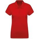 Kariban Women's Organic Pique Short Sleeve Polo Shirt