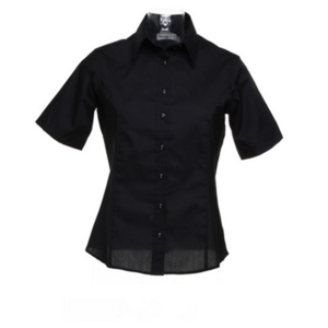 Kustom Kit Ladies' Short Sleeve Business Shirt