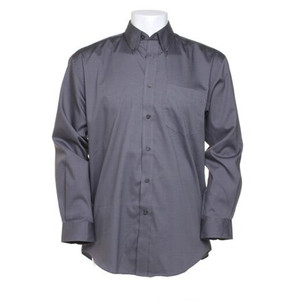 Kustom Kit Men's Long Sleeve Corporate Oxford Shirt