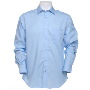 Kustom Kit Men's Premium Non-Iron Long Sleeve Shirt
