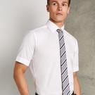 Kustom Kit Mens Slim Fit Short Sleeve Business Shirt