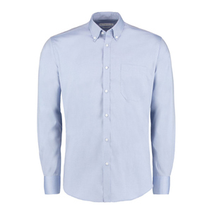 Kustom Kit Slim Fit Premium Oxford Shirt Long Sleeve