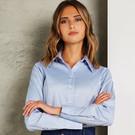 Kustom Kit Women's Corporate Long Sleeve Oxford Blouse
