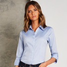 Kustom Kit Women's Corporate Oxford 3/4 Sleeved Blouse