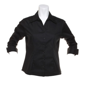 Kustom Kit Women's Corporate Oxford ¾ Sleeved Shirt