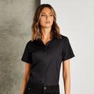 Kustom Kit Women's Poplin Blouse Short Sleeve