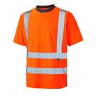 Leo Workwear Braunton Hi-Vis T-shirt