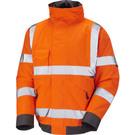 Leo Workwear Chivenor ISO 20471 Class 3 Bomber Jacket