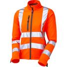 Leo Workwear Honeywell ISO 20471 Class 2 Women's Softhell Jacket