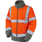 Leo Workwear Hartland ISO 20471 Class 3 Fleece Jacket