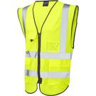 Leo Workwear Lynton ISO 20471 Class 2* Superior Waistcoat