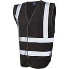 Leo Workwear Pilton Coloured Reflective Waistcoat (Non ISO 20471)