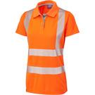 Leo Workwear Pippacott ISO 20471 Class 2 Coolviz Ultra Women's Polo Shirt