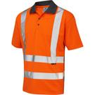Leo Workwear Rockham ISO 20471 Class 2 Coolviz Polo Shirt