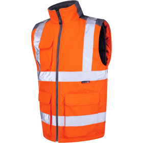 Leo Workwear Torrington ISO 20471 Class 2 Bodywarmer