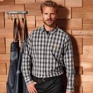 Premier Mulligan Check Cotton Long Sleeve Shirt