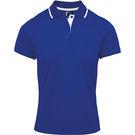 Premier Women's Contrast Coolchecker Polo Shirt