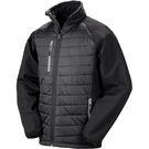 Result Black Compass Padded Softshell Jacket