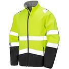 Result Printable Safety Softshell Jacket