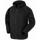 Result Recycled Hooded Microfleece Jacket