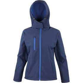 Result Women's Core TX Performance Hooded Softshell Jacket