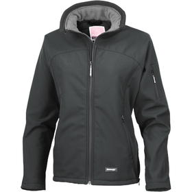 Result Women's Interchangeable Collar Softshell Jacket