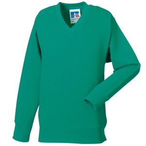 Russell Kids V Neck Sweatshirt