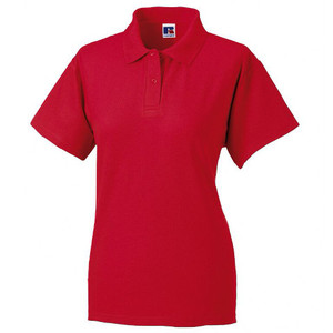 Russell Ladies Pique Polo
