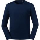 Russell Men's Pure Organic Long Sleeve T-Shirt