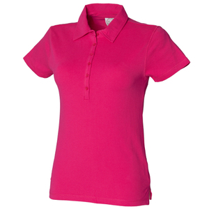 SF Ladies Stretch Pique Polo Shirt