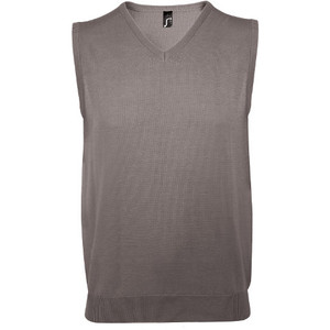 SOL'S Gentlemen Cotton Acrylic Sleeveless Sweater