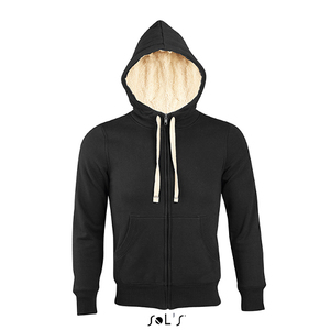 SOL'S Unisex Sherpa Hooded Jacket