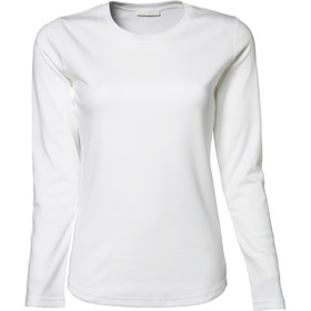 Tee Jays Ladies' Longsleeve Interlock Tee