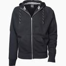 Tee Jays Men's Fashion Full Zip Hooded Sweat